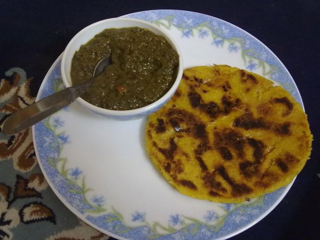 makki di roti indian vegan