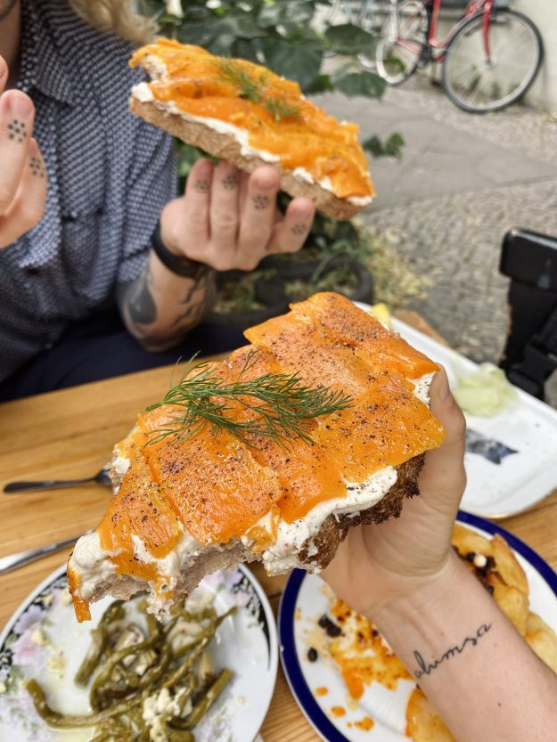 vegan tapas at Alaska Bar Berlin