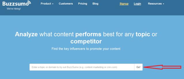 You need a popular blogging niche.
