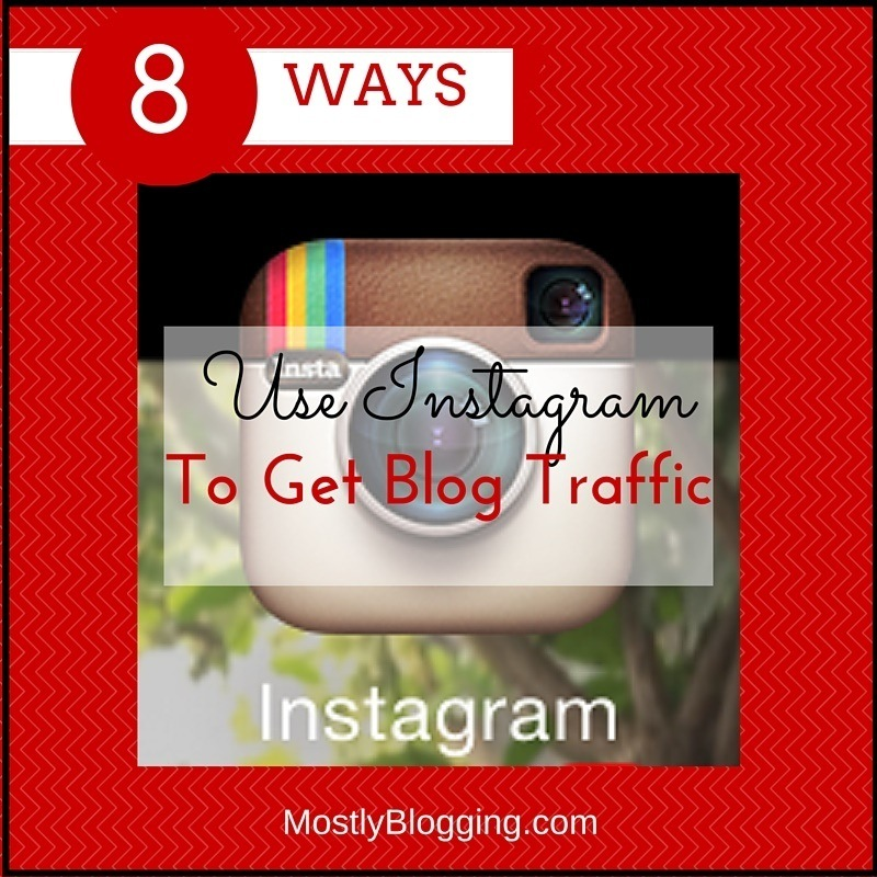 Instagram helps bloggers get traffic