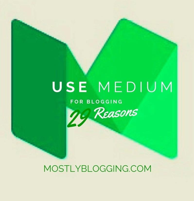 #Bloggers should use Medium