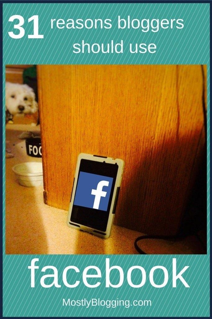 Facebook helps bloggers blog better.