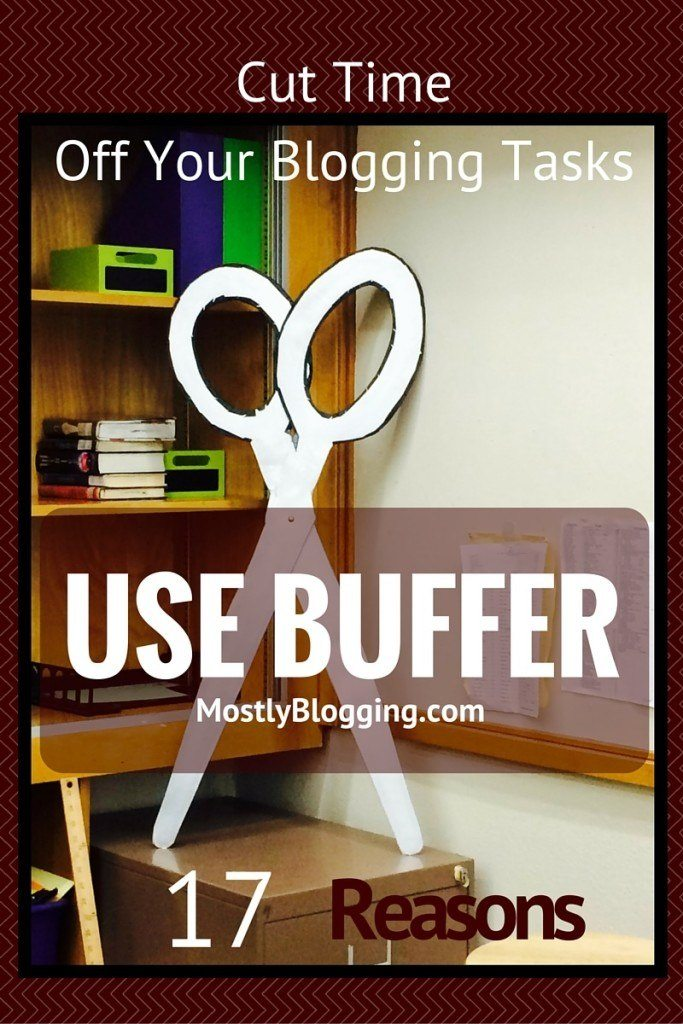 Buffer helps bloggers save time #blogging