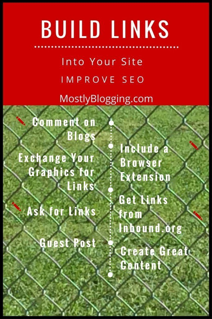 7 Ways to Build Links Into Your Site Improve #SEO
