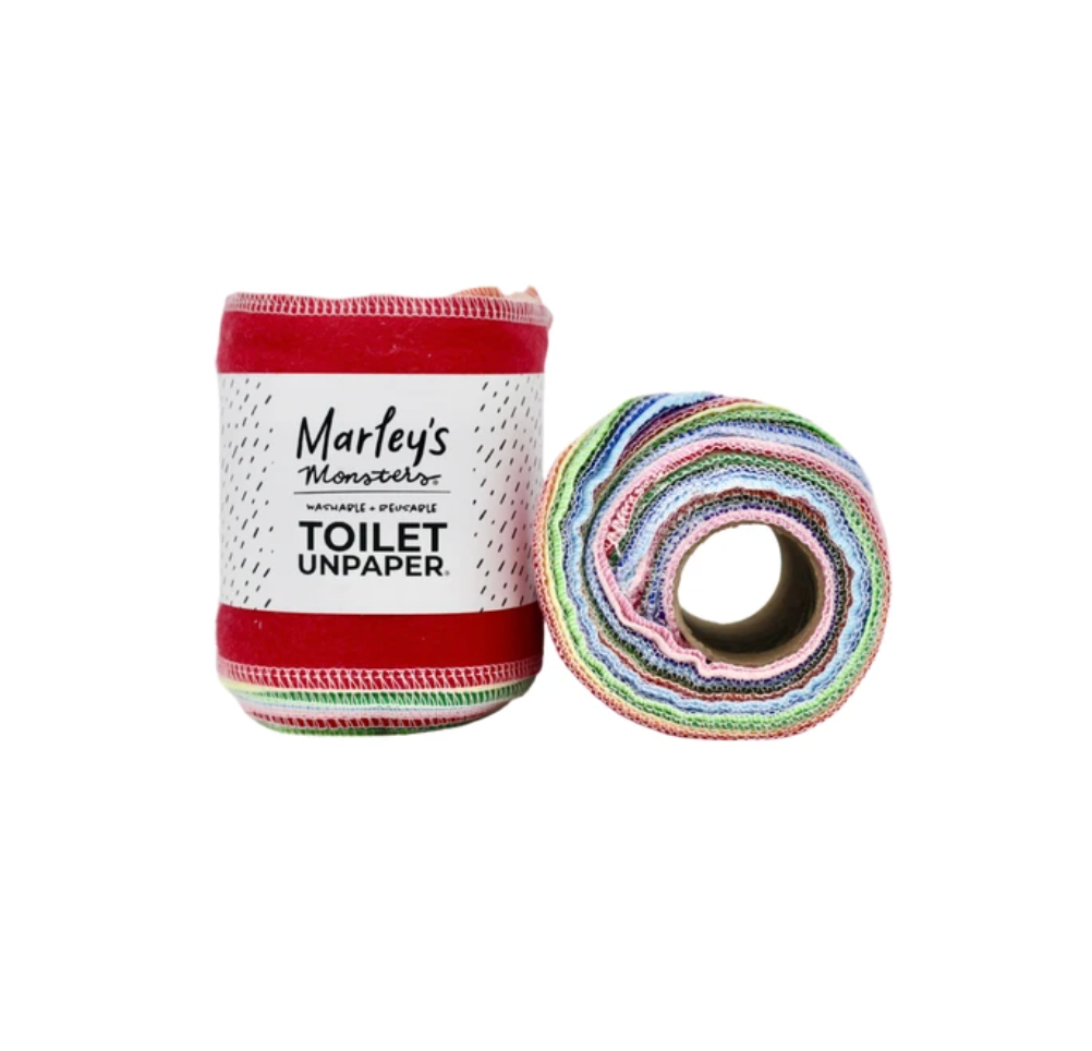 9 Eco-Friendly Toilet Papers for 2021 | Marley's Monsters reuseable toilet paper.