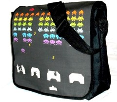 space invader bag