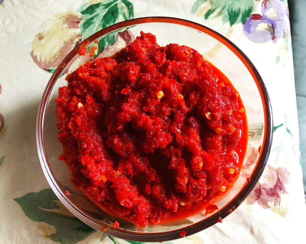 cherry pepper relish