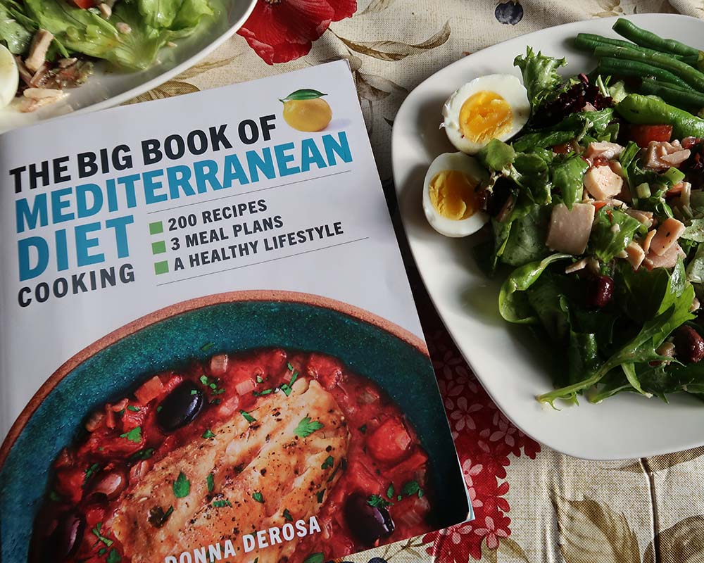 Niçoise Salad with The Big Book of Mediterranean Diet Cooking