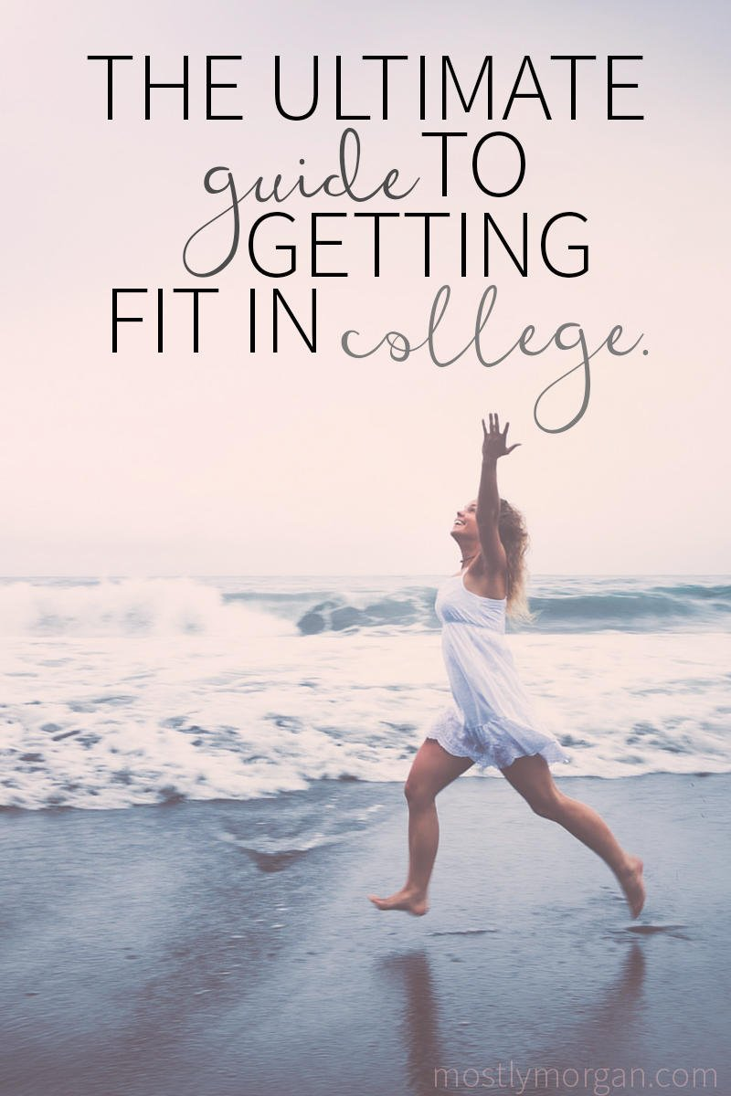 22 Easy Ways you can Get Fit in College