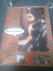 Matthew Sweet 100% Fun album poster