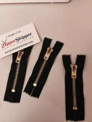"""Bought a few extra 3"""" zippers"""