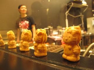 Hello Kitty waffles!