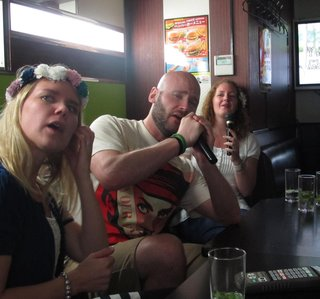Midsummer karaoke!