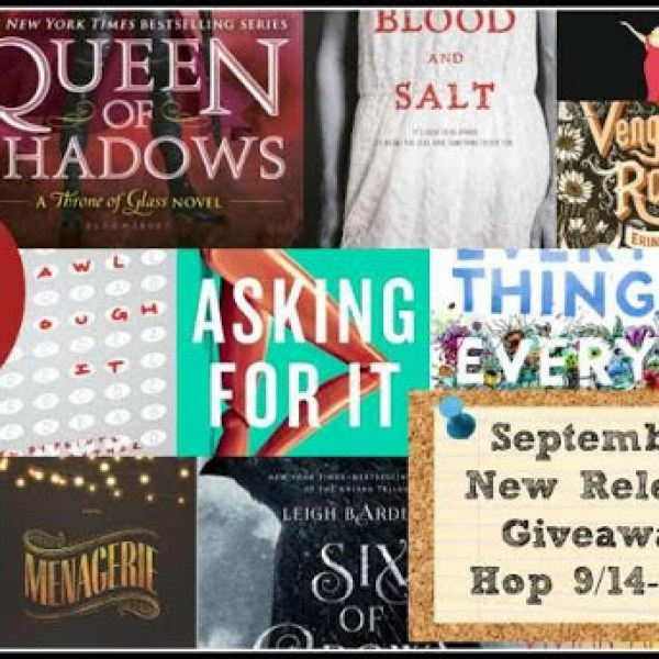 [GIVEAWAY] Win a September 2015 new book!