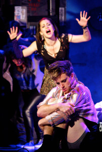 Alyssa DiPalma (Whatsername) and Alex Nee (Johnny) in AMERICAN IDIOT