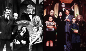 The casts of the 1966 TV series and the 1991 film