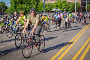 Join hundreds of cyclists on a ride through the night's action at Urban Bikes @ Urban Nights, which will start at Courthouse Square. (Photography by Josh Mayes)