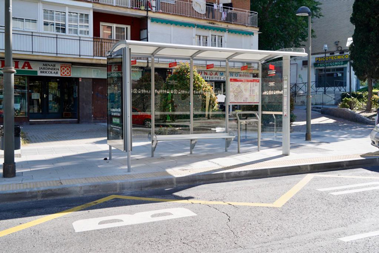 El Consistorio construye plataformas para mejorar la movilidad en la ciudad