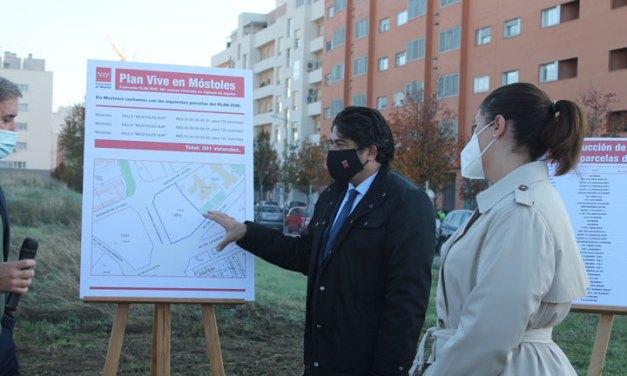 Arranca la licitación de 46 parcelas del Plan Vive con viviendas EN Móstoles