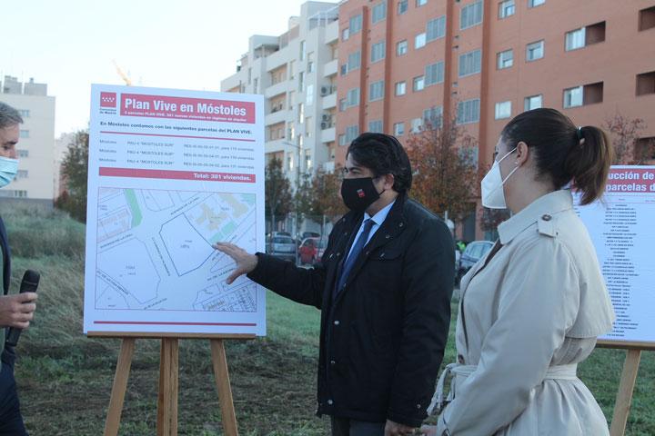 La Comunidad de Madrid construirá en Móstoles 381 viviendas para jóvenes en el marco del Plan Vive