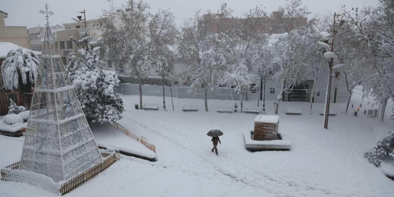 Suspendidas las clases presenciales durante lunes y martes por el temporal