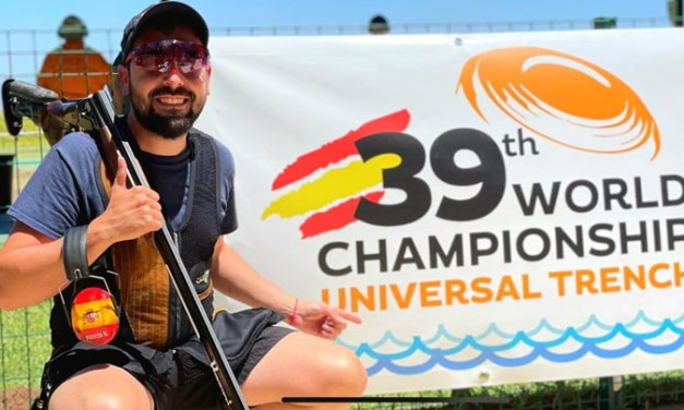 El mostoleño Mario Fuentes se proclama campeón del mundo de tiro