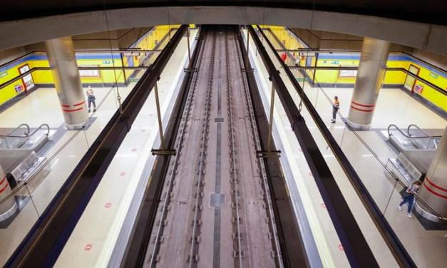 La reapertura de MetroSur trae consigo el aumento de la velocidad de los trenes y la reducción de los tiempos de trayecto