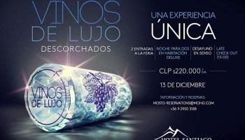 """11° edición de Vinos de Lujo """"Descorchados"""" en Hotel Santiago"""