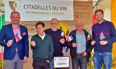 Pablo Ugarte en Citadelles du Vin 2019.