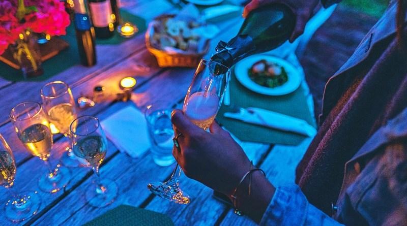 Consumo de vino Rosé