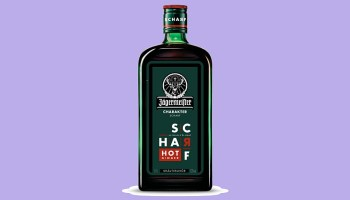 Scharf es lo nuevo del licor Jägermeister
