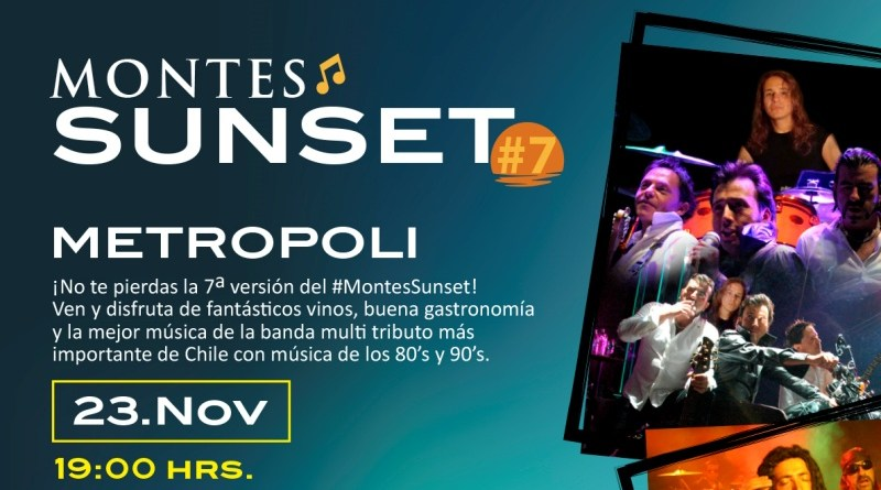Viña Montes celebrará en noviembre su Sunset#7
