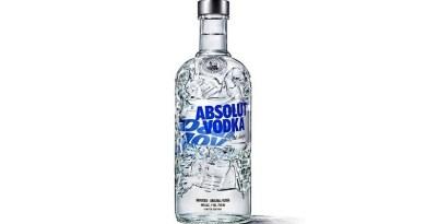 El último lanzamiento de Vodka Absolut es una botella reciclada en un 41%