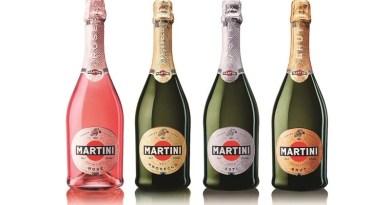 Las cuatro variedades de espumantes de Martini son ideales para brindar este verano