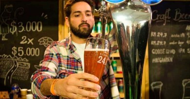 La cerveza argentina Patagonia Kilómetro 24.7 acaba de ser lanzada en el mercado chileno y es producida en Bariloche