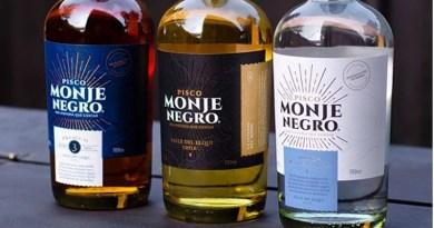 Acaba de ser presentado en el mercado chileno el nuevo pisco Monje Negro, un destilado que se presenta en tres variedades