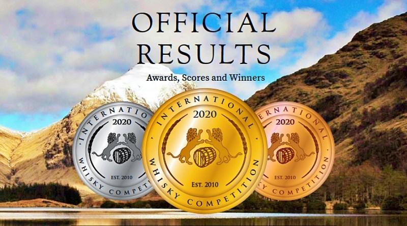 Hace unos días fue dado a conocer el listado completo de los ganadores del International Whisky Competition 2020.