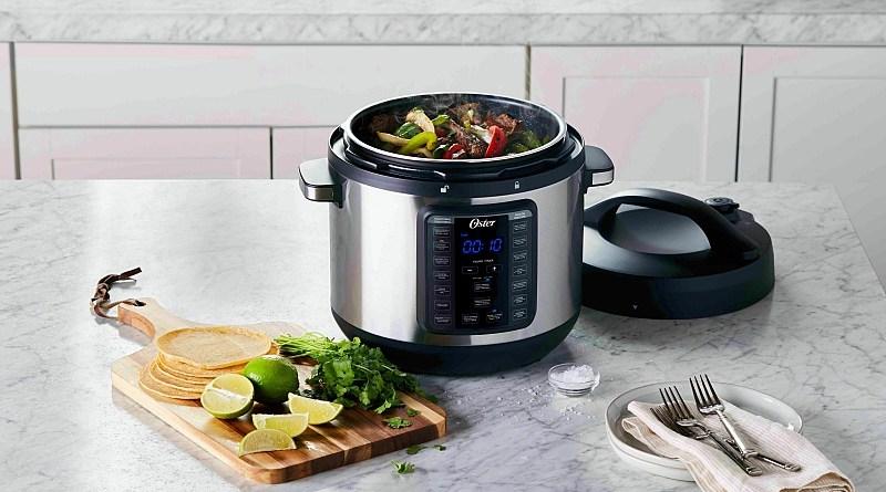 La nueva Multi-olla rápida de Oster permite al usuario respirar y delegar en la tecnología la dedicación que requiere elaborar un buen plato.