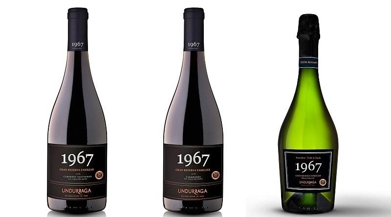 """Supermercado Diez cierra este 2020 con la presentación de la exclusiva línea de vinos """"1967"""" elaborada por la viña Undurraga. Se trata de un producto especial elaborado para celebrar los 53 años de trayectoria de la firma distribuidora."""