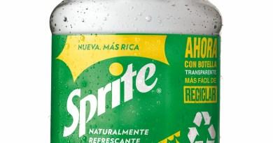 La marca Sprite dió un paso más en su compromiso por un mundo sin residuos, unificando todos sus empaques con plástico transparente