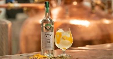 Acaba de ser presentado en el mercado nacional el primer Gin chileno elaborado sobre la base de cerveza. El destilado es fruto de la alianza entre la firma chilena Destilados Quintal y la microcervecería argentina Kilómetro 24.7