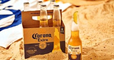 Cerveza Corona anuncia una nueva tecnología que reutiliza la paja de la cebada para usarla como material de empaque en un proceso circular.