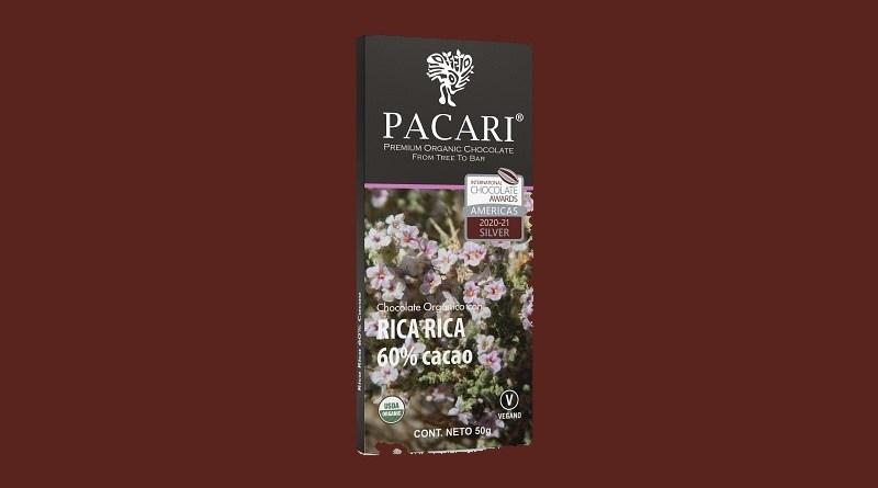 Una barra con la hierba atacameña Rica Rica se ubicó entre las mejores del mundo en la Final Mundial de los International Chocolate Awards