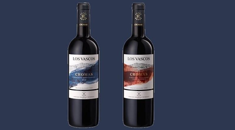 Tras 15 años de trabajo explorando nuevos terroirs nació la nueva línea de vinos Cromas de la viña colchagüina Los Vascos.