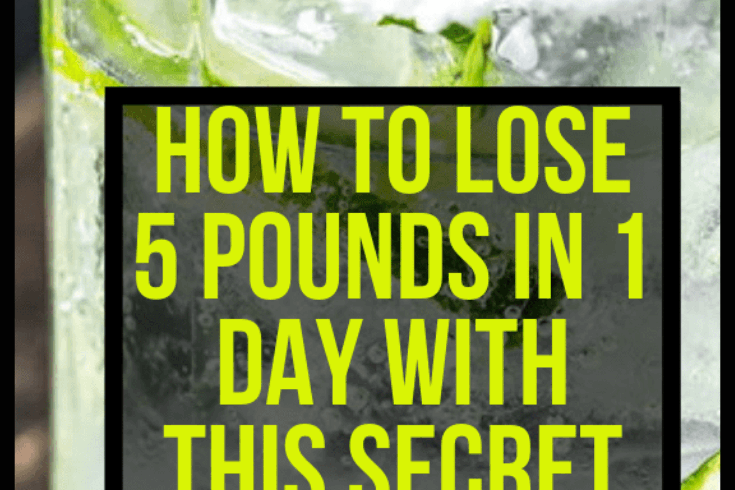 How To Lose 4 Pounds In 1 Day With This Secret Detox Recipe