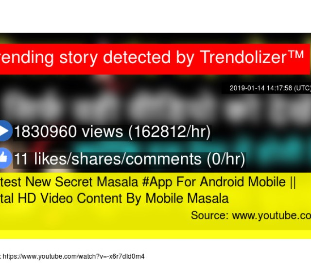 Latest New Secret Masala App For Android Mobile Total Hd Video Content By Mobile Masala