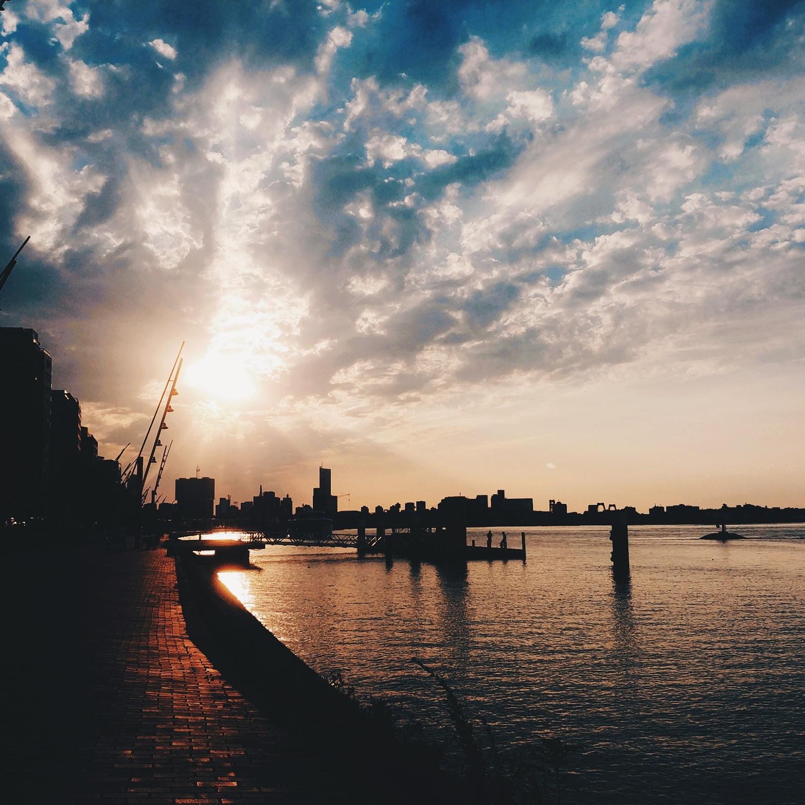 Sunset-Rotterdam