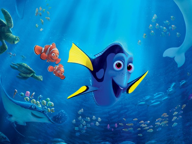 Wallpaper Turtle Fish Cartoon Nemo Stingray Underwater World Finding Dory Dori Marlin Photo Wallpaper Desktop