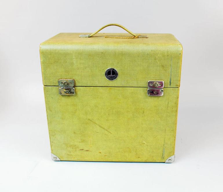 lime green projector case