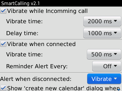 SmartCalling Pro - BlackBerry® Assistant Software